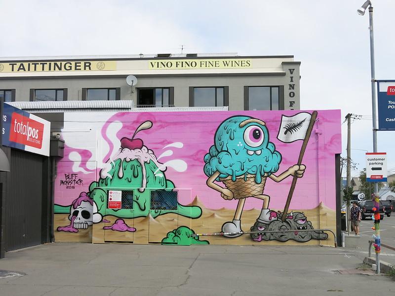 Art by Buff Monster, 190 Durham Street
