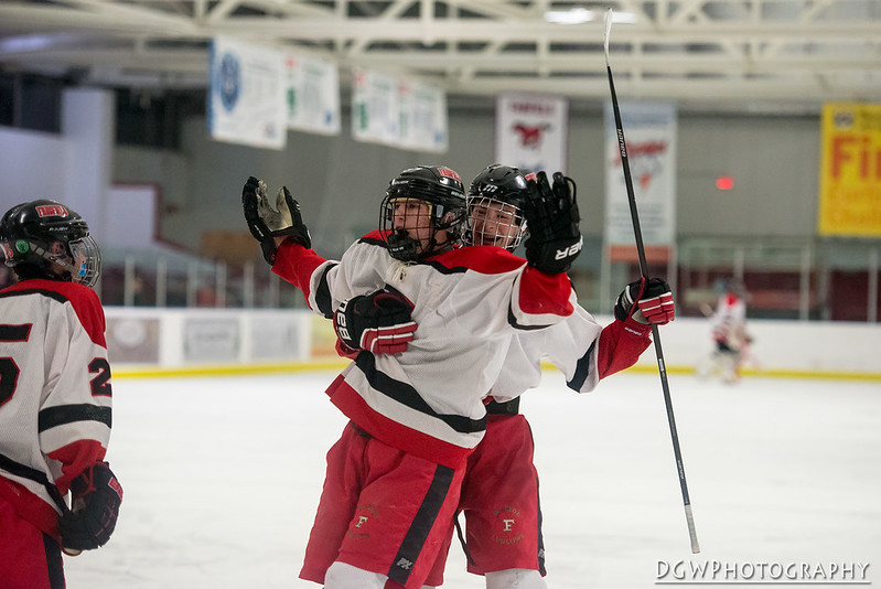 Milford vs. Fairfield - High School Hockey