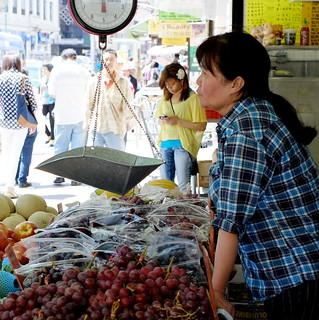 Chinatown vendor - NYC