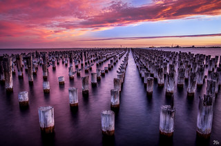 Princes Pier Pylons