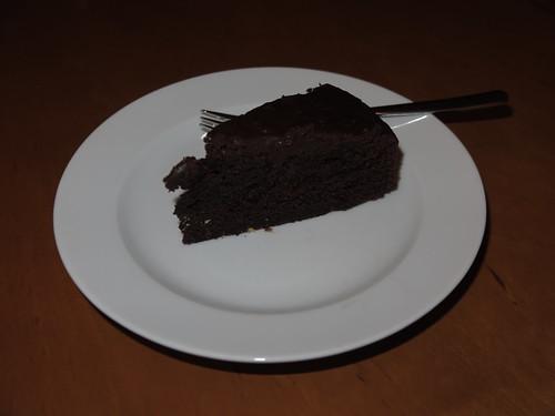 Schoko-Cola-Kuchen (Rest)