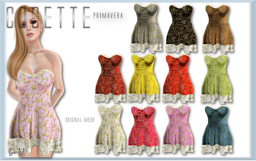 Cosette Primavera Fat Pack