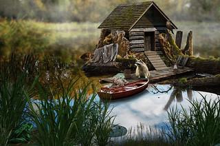 fairy house (fisherman's house)