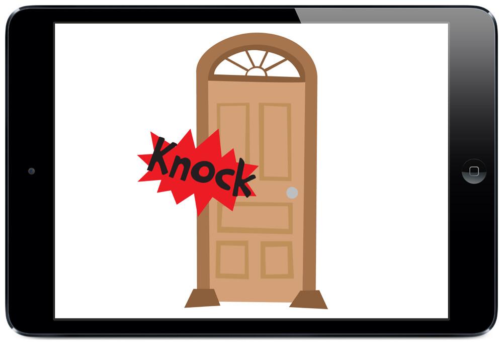 Knock Knock Joke Door
