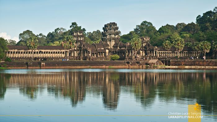 Angkor Wat Moat in Siem Reap