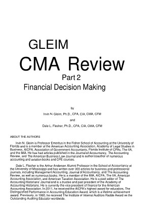 CMA USA Part 2 Gleim 2010 Original Copy