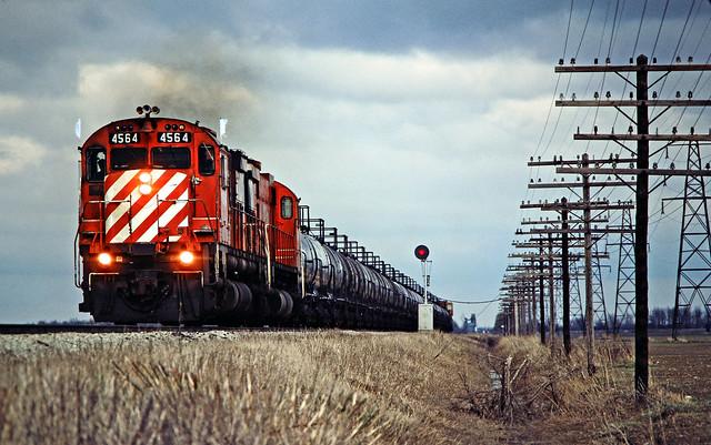 CP, Tilbury, Ontario, 1982