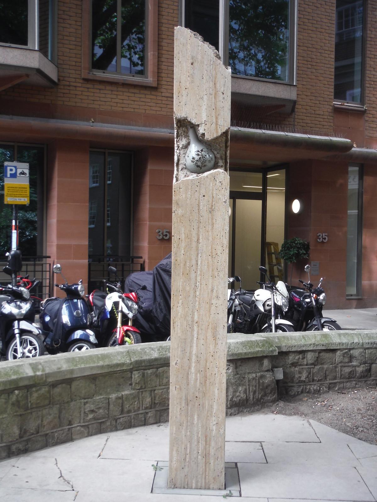 Shan Hur - Broken Pillar #12 SWC Walk Short 24 - Sculpture in the City