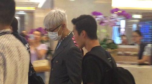 BIGBANG arrival Shenzhen by 总裁龙 2015-08-07 (1)