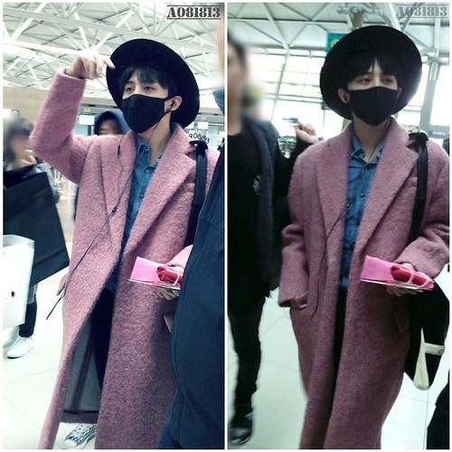 Big Bang - Incheon Airport - 21mar2015 - G-Dragon - a081813 - 02