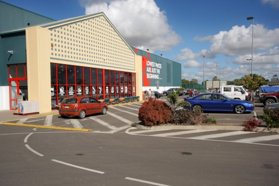 The new Bunnings Bundaberg store is exactly double the size of the old 9000sqm site