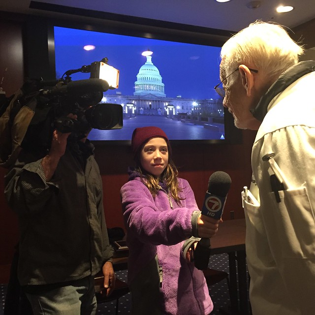 Arnold Abbott travels to Washington to advocate for and with homeless individuals.  Photo by Dwayne Black