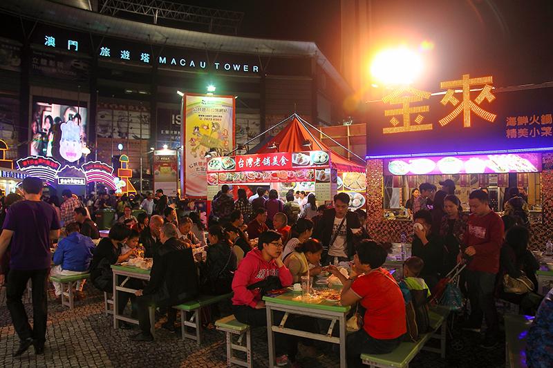 Macau Food Festival Tower