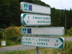 Eurovelo 6 Signposting, France