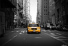 """Friday's Taxi"" Taxicabs of New York City."