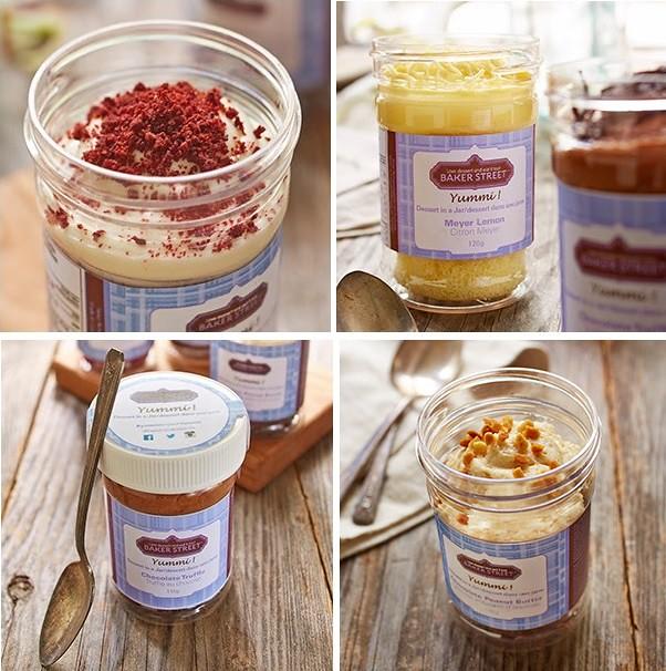 Baker Street Yummi! Desserts in a Jar