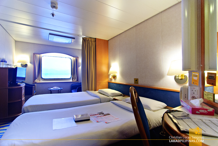 Oceanview Stateroom at the Star Cruises Superstar Aquarius