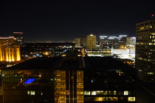 Night view in Houston.