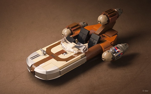 X-34 Landspeeder, by _Tiler, on Flickr
