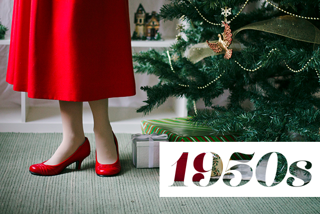 How We Wear Vintage for the Holidays // 1950s