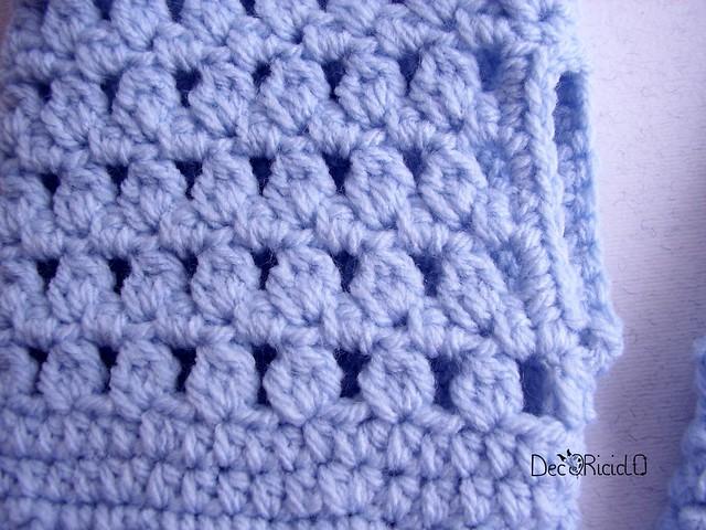 guanti senza dita lana acrilica azzurra  3