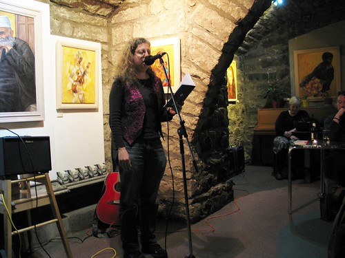 "Shore Poets vs Be The First To Like This ""Quiet Slam"" for Book Week Scotland: Tracey S Rosenberg"