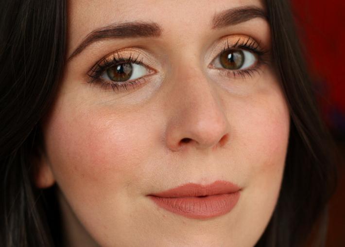 make up tutorial eye copper bronze gold