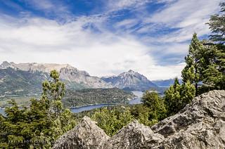 A view from the top of Cerro Campanario - San Carlos de Bariloche, Argentina