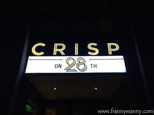 crisp on 28th 1