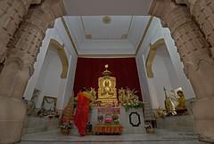 """Mulagandhakuti Vihara""  Buddhist temple at Sarnath, India"