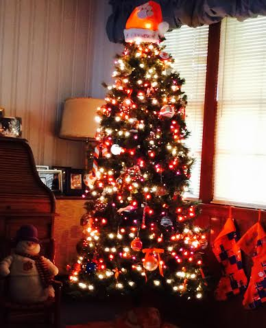 CindyWilliams_ClemsonChristmasTree