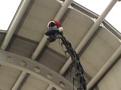 Festive O'Hare Airport Dinosaur