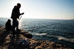 fishing, sea, recreation, outdoor recreation, recreational fishing, coast, fisherman,