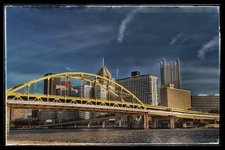 HDR Downtown Pittsburgh