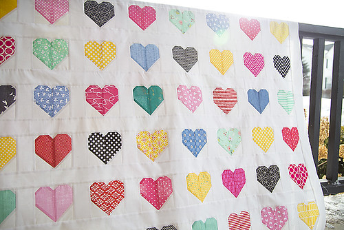 Hanna Hearts Quilt Top