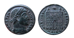 Late ROman Bronmze COin of CONSTANTINVS – PROVIDENTIAE
