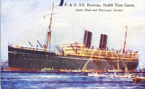 P&O SS Ranpura