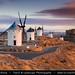 Spain - Castile-La Mancha - Toledo Province - Consuegra - Famous Iconic Spanish Windmills by © Lucie Debelkova / www.luciedebelkova.com