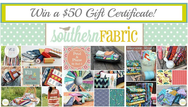Southern Fabric $50 Gift Certificate GIVEAWAY!