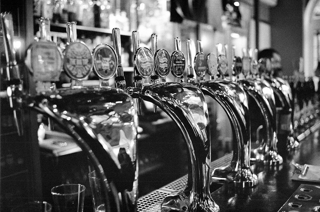 Chrome Beer Taps