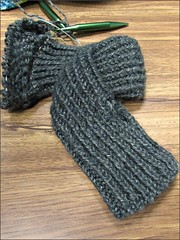 Be My Baby scarf-shrug, as of 1/27/15