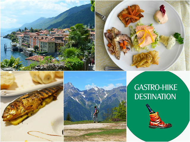 Italian Lakes Food and Walking Montage