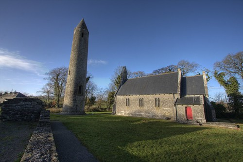 Timahoe Round Tower & Church