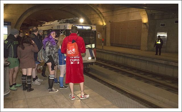 MetroLink No Pants Ride 2015-01-10 8