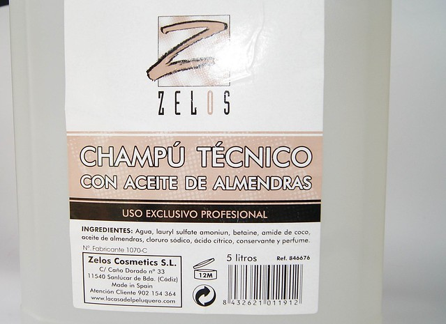 Champu Almendras Zelos