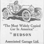 The Hudson Car -- Associated Garage Ltd.  Hudson Car The Hawaiian star., December 31, 1910, SECOND EDITION, 2nd Section, Page TWELVE, Image 12 chroniclingamerica.loc.gov/lccn/sn82015415/1910-12-31/ed-...  Hawaii Digital Newspaper Project hdnpblog.wordpress.com/