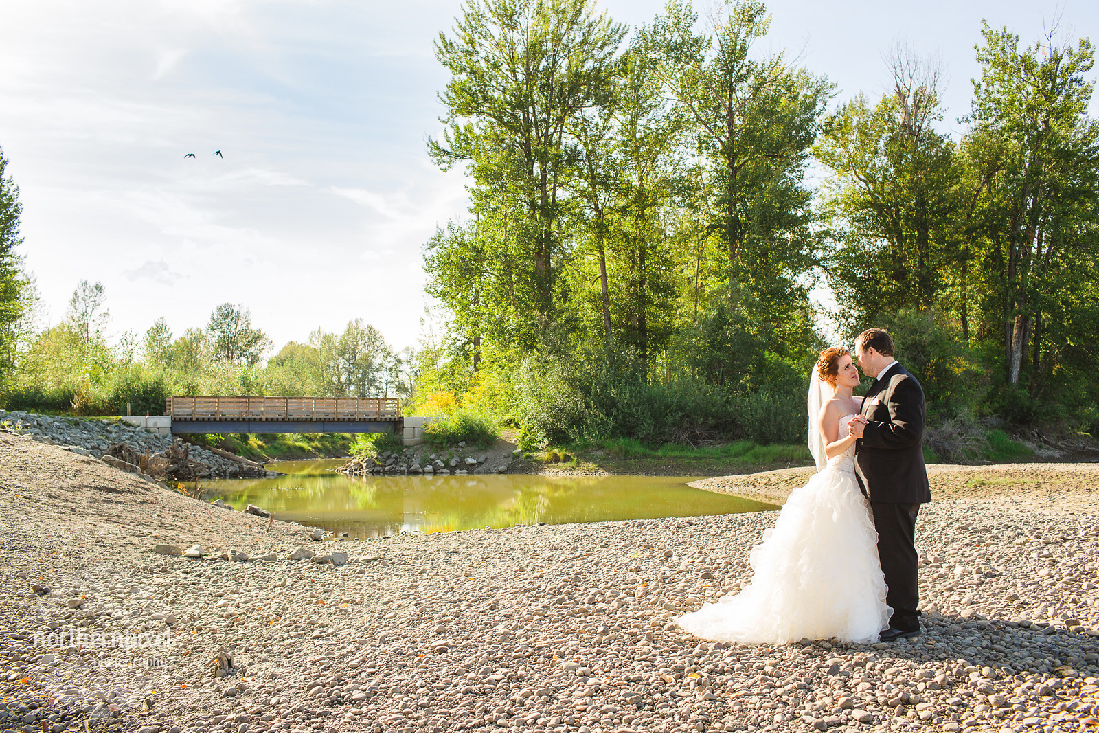 Cottonwood Island Park Wedding Photos Prince George BC