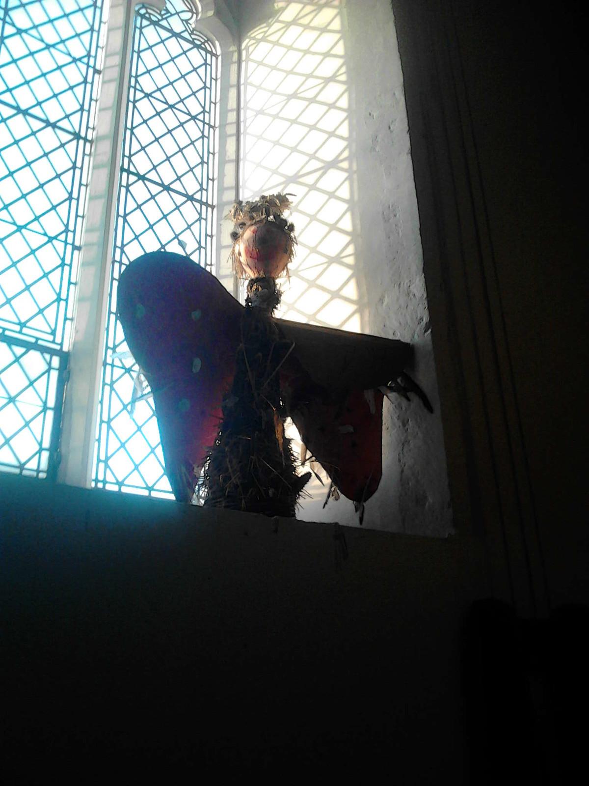 An Angel St Mary's Church Higham Higham Circular