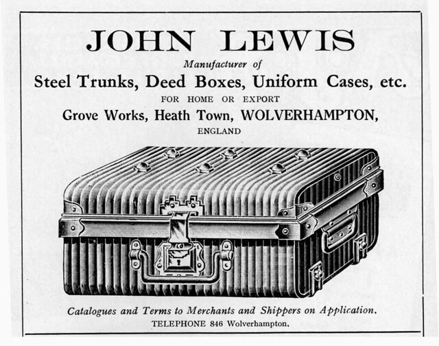 JOHN LEWIS TRUNKS