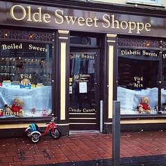 Time to choose two sweets as a treat. Love the old-fashioned sweet shops!